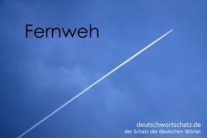 Fernweh - Deutsch Wortschatz - Wortschatzbilder