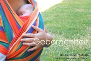 Geborgenheit - Deutsch Wortschatz - Wortschatzbilder