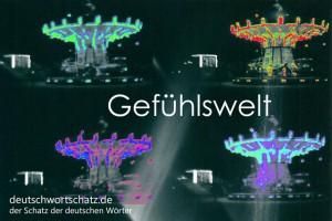 Gefühlswelt - Deutsch Wortschatz - Wortschatzbilder