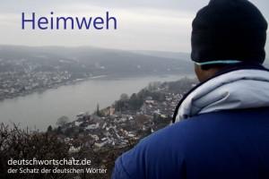 Heimweh - Deutsch Wortschatz - Wortschatzbilder