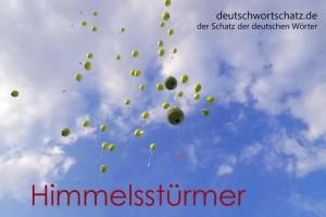 Himmelsstürmer - Deutsch Wortschatz - Wortschatzbilder