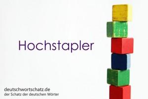 Hochstapler - Deutsch Wortschatz - Wortschatzbilder