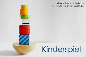Kinderspiel - Deutsch Wortschatz - Wortschatzbilder