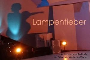 Lampenfieber - Deutsch Wortschatz - Wortschatzbilder