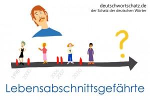 Lebensabschnittsgefährte - Deutsch Wortschatz - Wortschatzbilder