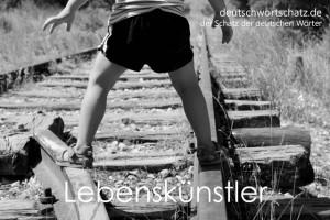 Lebenskünstler - Deutsch Wortschatz - Wortschatzbilder