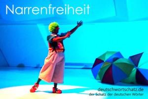 Narrenfreiheit - Deutsch Wortschatz - Wortschatzbilder