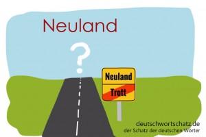 Neuland - Deutsch Wortschatz - Wortschatzbilder