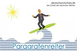 Paragrafenreiter - Deutsch Wortschatz - Wortschatzbilder