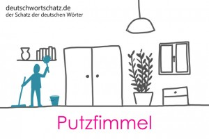Putzfimmel - Deutsch Wortschatz - Wortschatzbilder
