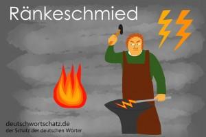 Ränkeschmied - Deutsch Wortschatz - Wortschatzbilder