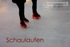 Schaulaufen - Deutsch Wortschatz - Wortschatzbilder