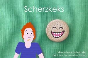 Scherzkeks - Deutsch Wortschatz - Wortschatzbilder