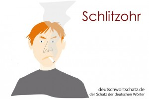 Schlitzohr - Deutsch Wortschatz - Wortschatzbilder