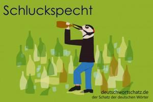 Schluckspecht - Deutsch Wortschatz - Wortschatzbilder