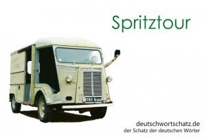 Spritztour - Deutsch Wortschatz - Wortschatzbilder