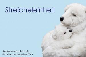 Streicheleinheit - Deutsch Wortschatz - Wortschatzbilder