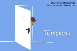 Türspion - Deutsch Wortschatz - Wortschatzbilder