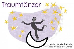 Traumtänzer - Deutsch Wortschatz - Wortschatzbilder