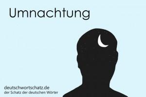 Umnachtung - Deutsch Wortschatz - Wortschatzbilder