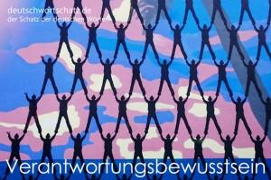 Verantwortungsbewusstsein - Deutsch Wortschatz - Wortschatzbilder