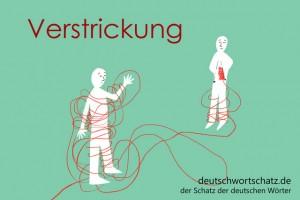 Verstrickung - Deutsch Wortschatz - Wortschatzbilder