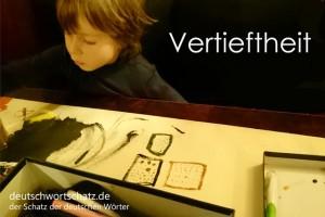 Vertieftheit - Deutsch Wortschatz - Wortschatzbilder