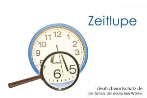 Zeitlupe - Deutsch Wortschatz - Wortschatzbilder