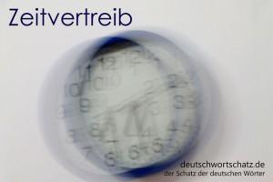 Zeitvertreib - Deutsch Wortschatz - Wortschatzbilder