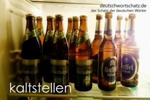 kaltstellen - Deutsch Wortschatz - Wortschatzbilder